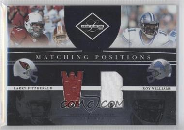 2008 Leaf Limited [???] #MP-6 - Larry Fitzgerald /100