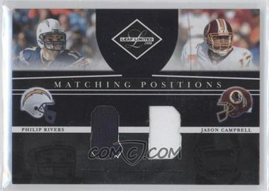 2008 Leaf Limited [???] #MP-9 - Philip Rivers, Jason Campbell /100