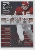 Len Dawson /999