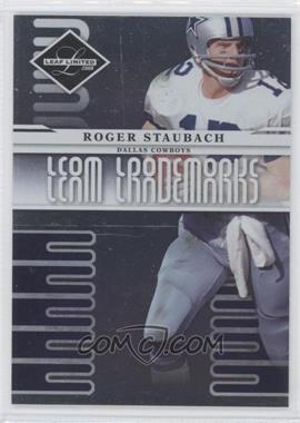 2008 Leaf Limited [???] #T-6 - Roger Staubach /999
