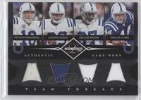 Peyton Manning, Joseph Addai, Reggie Wayne, Dallas Clark /100
