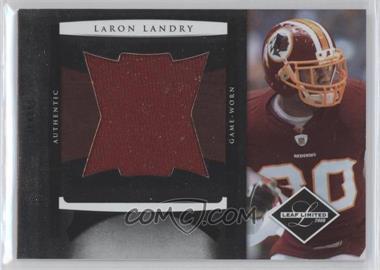 2008 Leaf Limited Jumbo Jerseys #11 - LaRon Landry /50