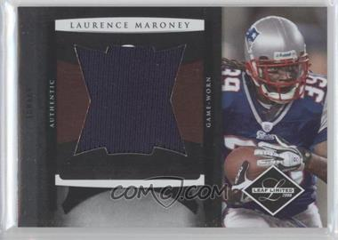 2008 Leaf Limited Jumbo Jerseys #22 - Laurence Maroney /50
