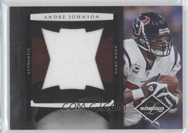 2008 Leaf Limited Jumbo Jerseys #25 - Andre Johnson /50