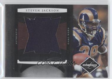 2008 Leaf Limited Jumbo Jerseys #3 - Steven Jackson /50