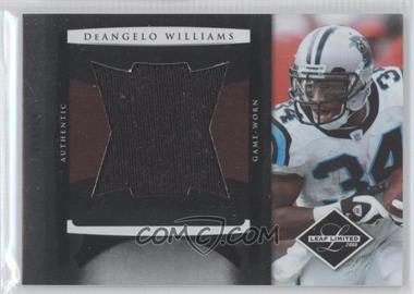 2008 Leaf Limited Jumbo Jerseys #7 - DeAngelo Williams /50