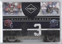 Deion Branch, Lee Evans /25