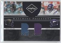 Adrian Peterson, Fred Taylor /100