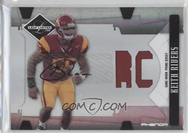 2008 Leaf Limited Phenoms College [Autographed] [Memorabilia] #255 - Keith Rivers /99