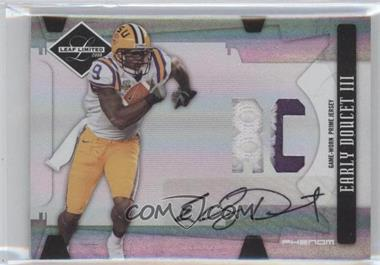 2008 Leaf Limited Phenoms College [Autographed] [Memorabilia] #312 - Early Doucet III /50