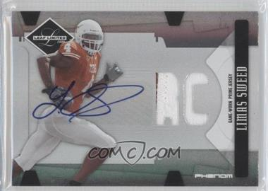 2008 Leaf Limited Phenoms College [Autographed] [Memorabilia] #327 - Limas Sweed /50