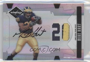 2008 Leaf Limited Phenoms College Die-Cut Jersey Number Material Autograph [Autographed] [Memorabilia] #273 - Mike Hart /50