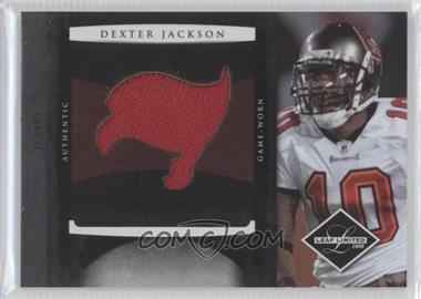 2008 Leaf Limited Rookie Jumbo Jerseys Team Logo Die-Cut #25 - Dexter Jackson /50