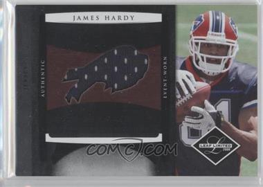 2008 Leaf Limited Rookie Jumbo Jerseys Team Logo Die-Cut #27 - James Hardy /50