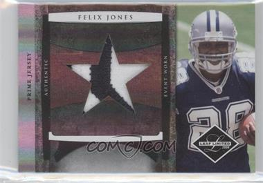2008 Leaf Limited Rookie Jumbo Jerseys Team Logo Prime #6 - Felix Jones /10