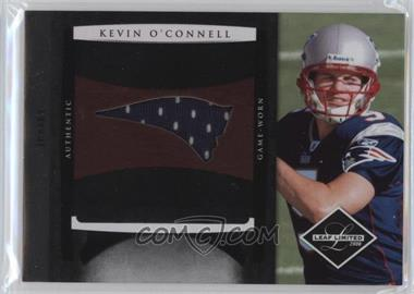 2008 Leaf Limited Rookie Jumbo Jerseys Team Logo #10 - Kevin O'Connell /50