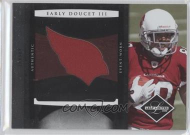 2008 Leaf Limited Rookie Jumbo Jerseys Team Logo #29 - Early Doucet III /50