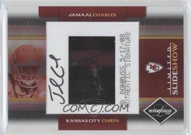 2008 Leaf Limited SlideShow #SS17 - Jamaal Charles /50