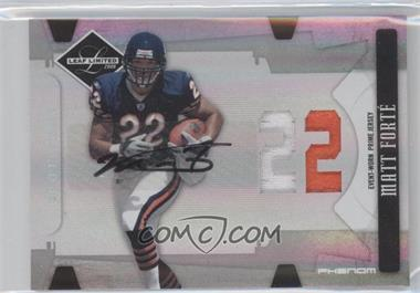 2008 Leaf Limited Spotlight Silver #330 - Matt Forte /49