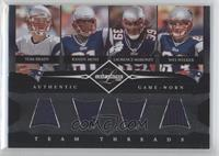Tom Brady, Laurence Maroney, Randy Moss, Wes Welker /100