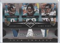 Fred Taylor, Matt Jones, David Garrard /25