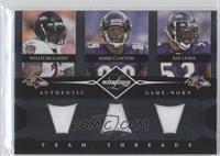 Mark Clayton, Ray Lewis, Willis McGahee /100