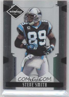 2008 Leaf Limited Threads Team Logo Prime [Memorabilia] #15 - Steve Smith /25