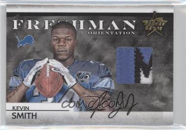 2008 Leaf Rookies & Stars - Freshman Orientation Materials - Jerseys Prime Signatures [Autographed] #FO-34 - Kevin Smith /10
