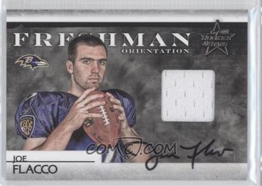 2008 Leaf Rookies & Stars - Freshman Orientation Materials - Jerseys Signatures [Autographed] #FO-5 - Joe Flacco /25