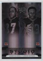 Andre Caldwell, Jerome Simpson /100