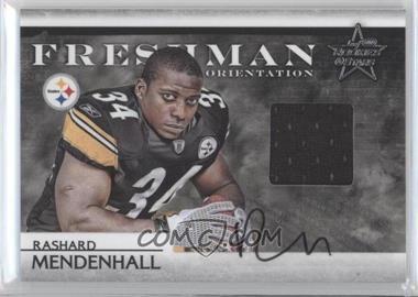 2008 Leaf Rookies & Stars Freshman Orientation Materials Jerseys Signatures [Autographed] #FO-28 - Rashard Mendenhall /25