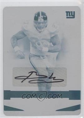 2008 Playoff Absolute Memorabilia - [Base] - Printing Plate Cyan #97 - Brandon Jacobs /1