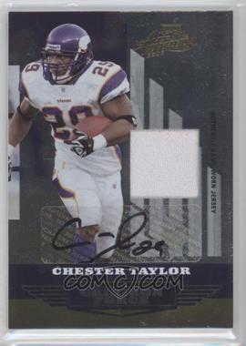 2008 Playoff Absolute Memorabilia [???] #GF-19 - Chester Taylor /25