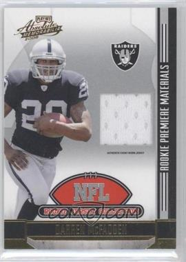 2008 Playoff Absolute Memorabilia NFL Rookie Jersey Collection #3 - Darren McFadden