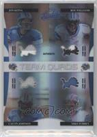 Calvin Johnson, Jon Kitna, Mike Furrey, Roy Williams /25