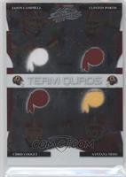 Chris Cooley, Clinton Portis, Jason Campbell, Santana Moss /100