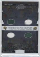 Aaron Rodgers, Greg Jennings, Donald Driver, Ryan Grant /100