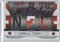 Carson Palmer, Chad Johnson, T.J. Houshmandzadeh /25