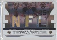 Drew Brees, Marques Colston, Reggie Bush /25