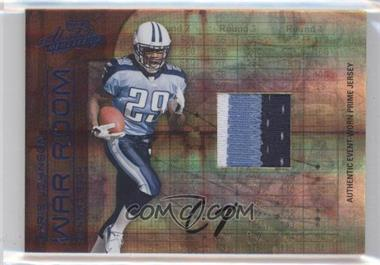 2008 Playoff Absolute Memorabilia War Room Materials Prime Signatures [Autographed] [Memorabilia] #WR-4 - Chris Johnson /25