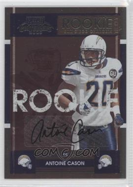 2008 Playoff Contenders - [Base] #106 - Antoine Cason