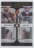 James Hardy, Jerome Simpson /50