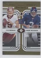 Andre' Woodson, Colt Brennan /100