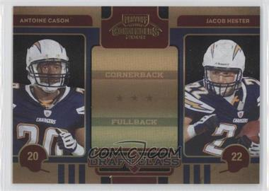 2008 Playoff Contenders [???] #28 - Antoine Cason, Jacob Hester /50