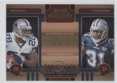 2008 Playoff Contenders Draft Class Black #11 - Felix Jones, Mike Jenkins /50