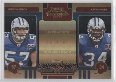 2008 Playoff Contenders Draft Class Black #14 - Jordon Dizon, Kevin Smith /50