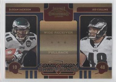 2008 Playoff Contenders Draft Class Black #26 - DeSean Jackson, Jed Collins /50