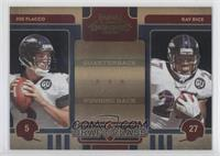Ray Rice, Joe Flacco /50