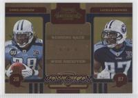 Chris Johnson, Lavelle Hawkins /100