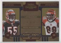 Jerome Simpson, Keith Rivers /100